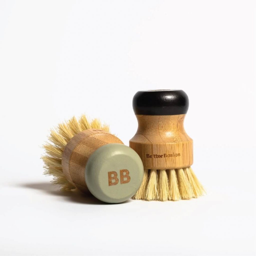 Better Basics brush featuring Monday Creative's brand identity work