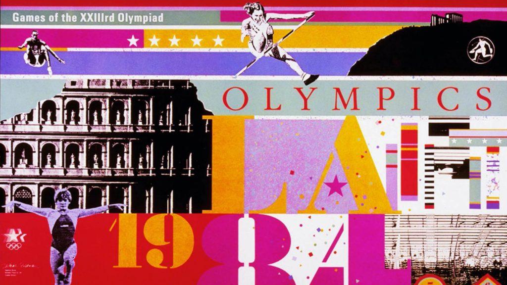 1984 Los Angeles Olympics branding by Deborah Sussman